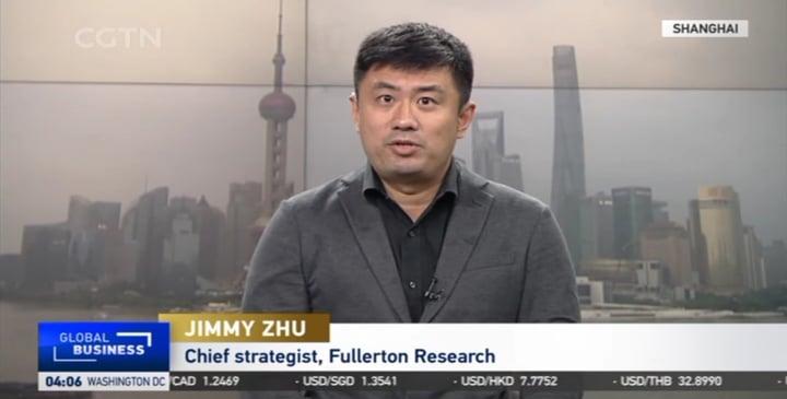 Jimmy Zhu LIVE On CGTN 29 July 2021
