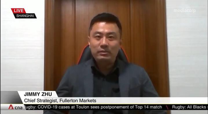 Jimmy Zhu LIVE On CNA 13 April 2021