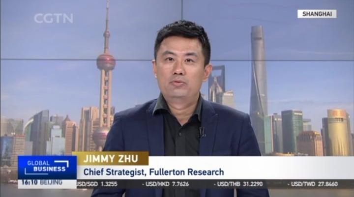 Jimmy Zhu LIVE On CGTN 29 April 2021