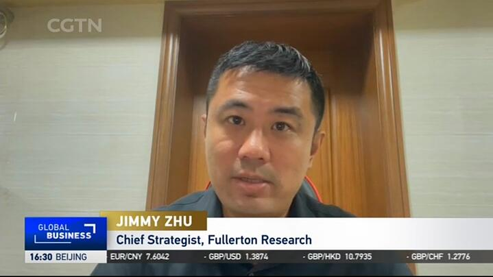 Jimmy Zhu LIVE On CGTN 12 August 2021