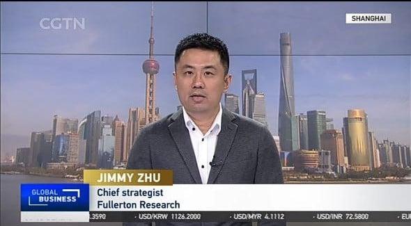 Jimmy Zhu LIVE On CGTN 18 March 2021