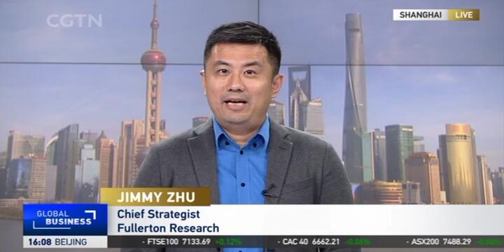 Jimmy Zhu LIVE On CGTN 27 August 2021