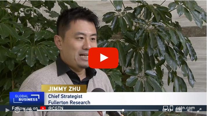 Jimmy Zhu LIVE On CGTN 1 January 2021