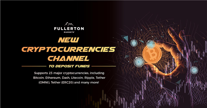Fullerton Markets Adds New Cryptocurrency Channel in Addition to Its Extensive Funding Options