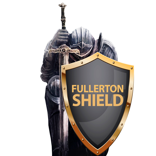 fullerton shield  logo