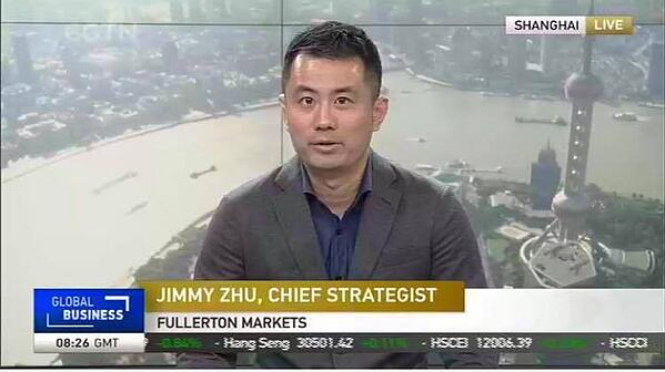 Jimmy Zhu CGTN June 4