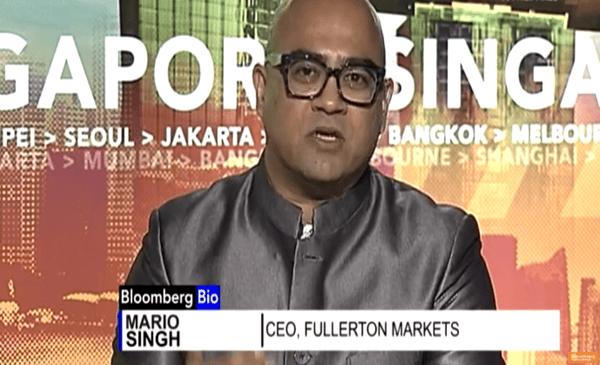Mario on Bloomberg TV 27 Jan 2017