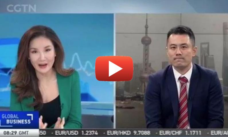 Jimmy Zhu LIVE on CGTN 22 March 2018