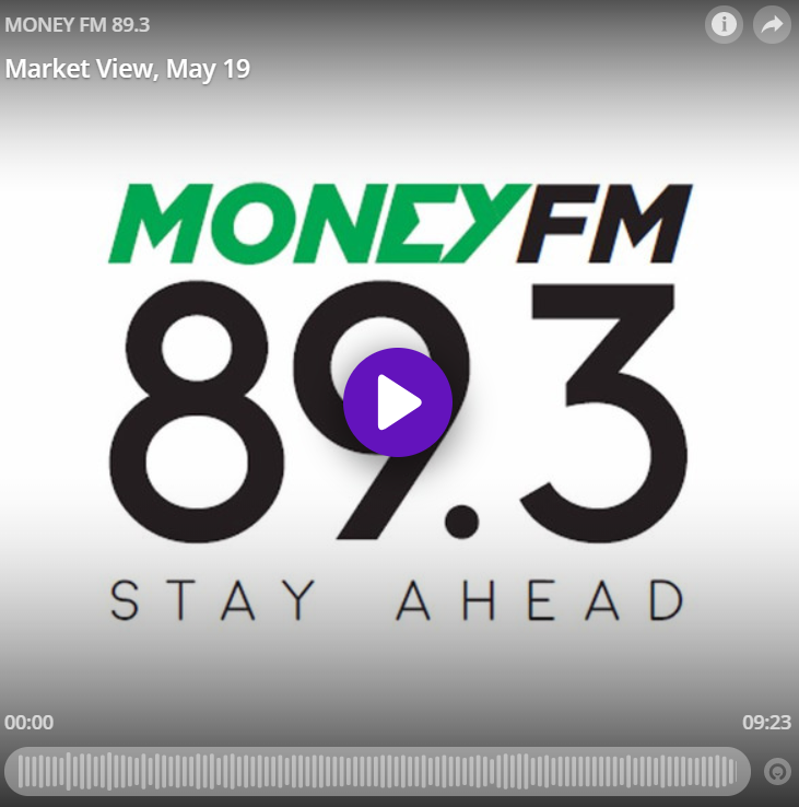Louis Teo LIVE on MONEY FM 89.3 19 May 2020