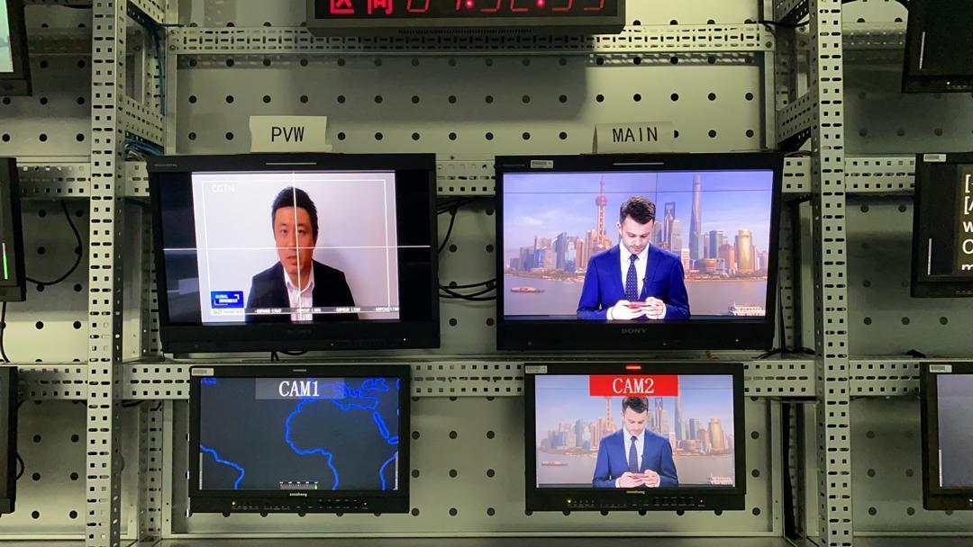 Jimmy Zhu LIVE On CGTN 13 March 2020