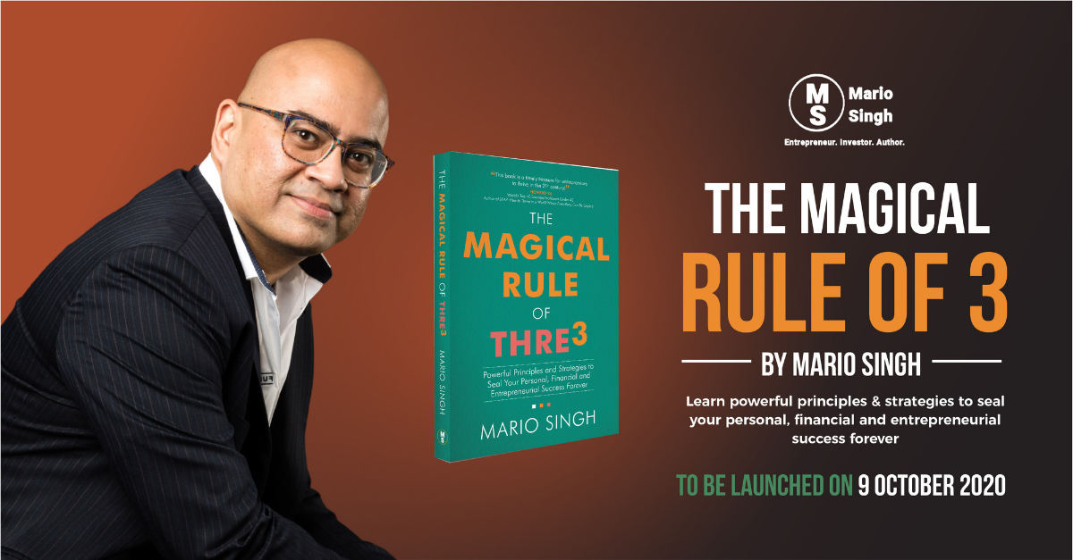Best-selling Author Mario Singh to Launch Fourth Book Focused on Personal, Financial and Business Success